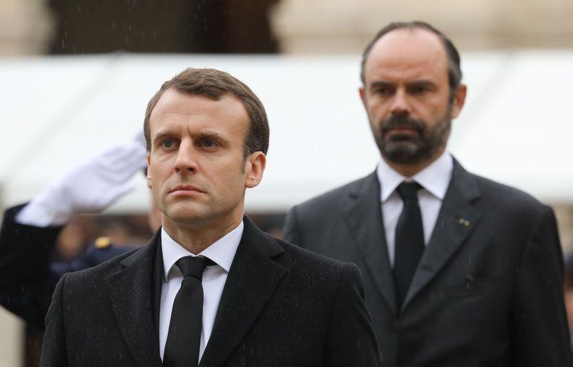 Popularité: Macron et Philippe en forte hausse dans deux sondages