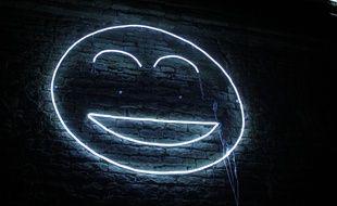 L'oeuvre Smile présentée comme expérience dans le cadre du festival Maintenant à Rennes.