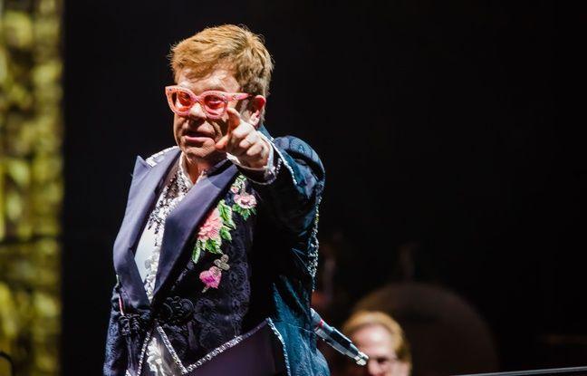 Rosette Man: Elton John décoré de la légion d'honneur par Emmanuel Macron vendredi