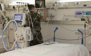 Du personnel médical militaire en renfort au CHU de Martinique