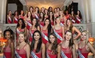 Les 29 candidates de Miss Prestige National 2016.