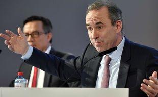 Eric Olsen lors d'une conférence de presse le 3 mars 2017.
