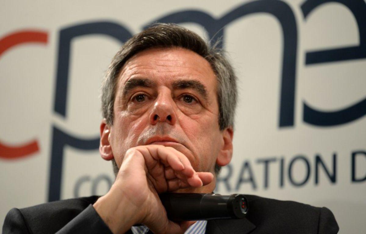 François Fillon – ERIC PIERMONT / AFP