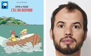 Max de Radiguès est en sélection officielle au festival d'Angoulême pour le premier tome de «Stig & Tilde».
