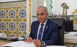 Le Premier ministre tunisien Habib Jemli à Tunis le 2 janvier 2020.