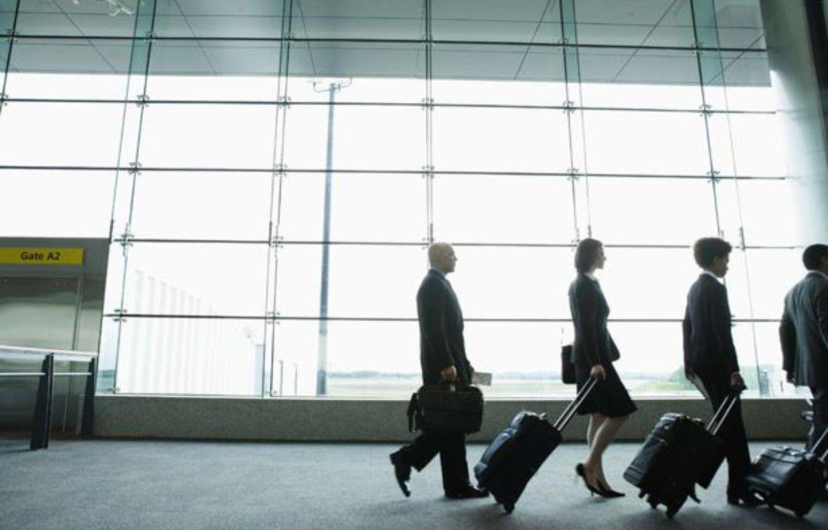 Selon l'Arseg, le coût total d'un poste de travail a baissé de 5% en 2011.  – Jon Feingersh Ph/SUPERSTOCK/SIPA