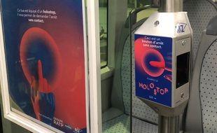 """Le dispositif """"HoloStop"""" est actuellement déployé dans cinq bus"""