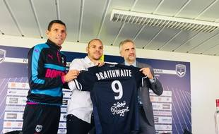 L'ancien toulousain Martin Braithwaite débarque aux Girondins