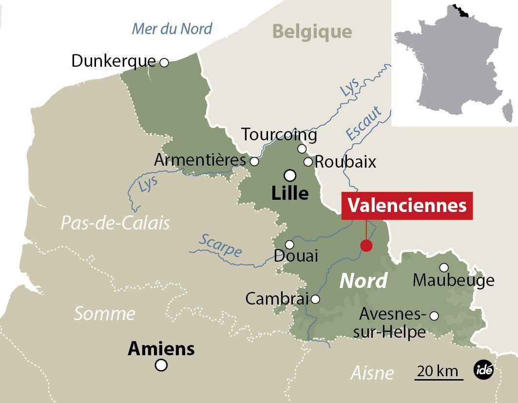 Carte valenciennes - L adresse valenciennes ...