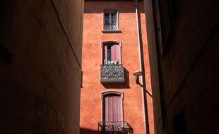 Une ruelle de Perpignan (illustration)