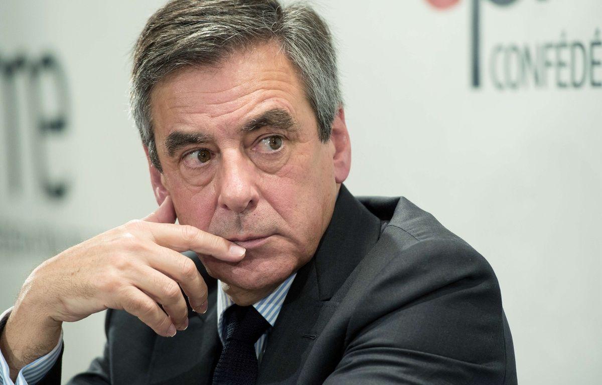 François Fillon, le 6 mars 2017. – CHAMUSSY/SIPA
