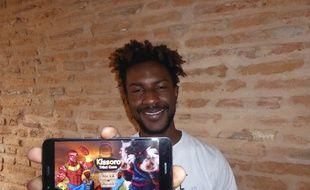 Teddy Kossoko, le créateur du jeu Kissoro Tribal Game.