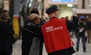 La SNCF est visée par une action de groupe pour discrimination envers ses salariés handicapés (illustration)