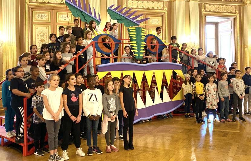 VIDEO. Bordeaux : Un étonnant opéra participatif va réunir 200 enfants de zones prioritaires sur la scène du Grand Théâtre