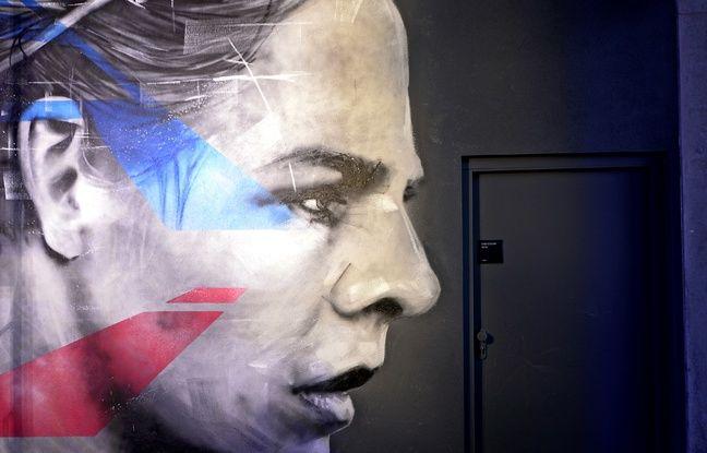 Un portrait de l'attaquante de l'OL Eugénie Le Sommer a été réalisé cette semaine par Graffmatt.