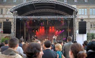 Un karaoké géant aura lieu Place Kléber à l'occasion de la Fête de la musique à Strasbourg. (Archives)