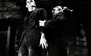 Boris Karloff, magistrale créature de Frankenstein.