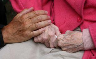 Une personne âgée (Illustration).
