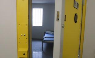 Une cellule dans une prison (illustration).