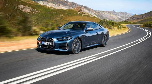 Calandre XXL pour la BMW Série 4