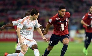 L'attaquant Anwar El-Ghazi n'a pas brillé pour sa première avec le Losc