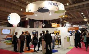 Foire de E-commerce, le 24 septembre 2013 à la Porte de Versailles à Paris
