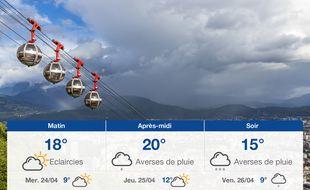 Météo Grenoble: Prévisions du mardi 23 avril 2019