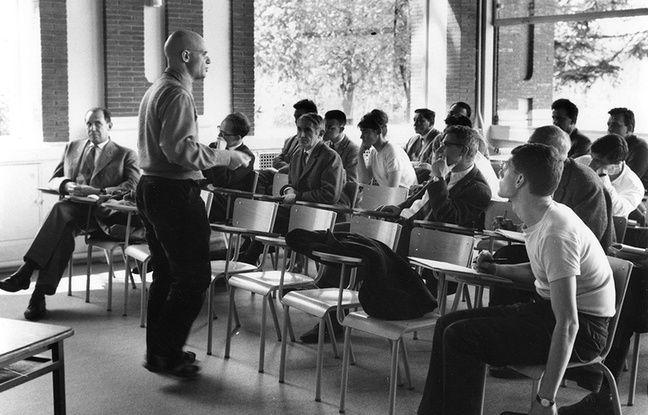 L'une des rares photos d'Alexandre Grothendieck.