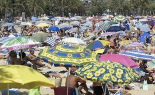 Une plage du Lavandou