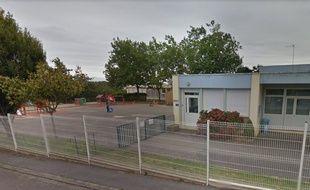 La scène s'est déroulée lundi midi près de l'école Pablo-Picasso à Lanester.