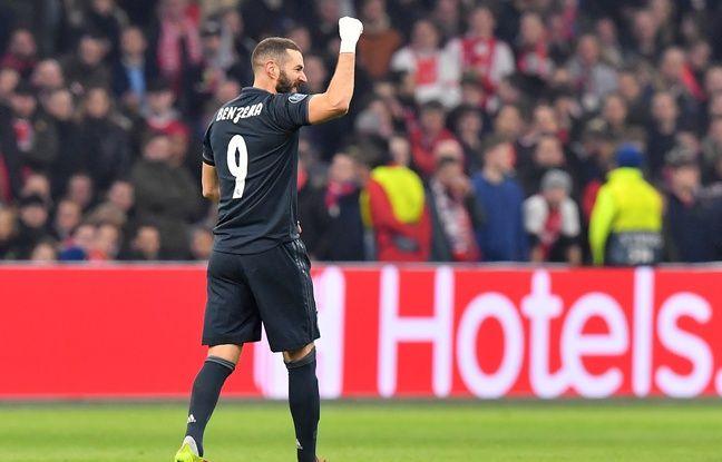 Ligue des champions: Karim Benzema atteint la barre des 60 buts fonce sur Raul