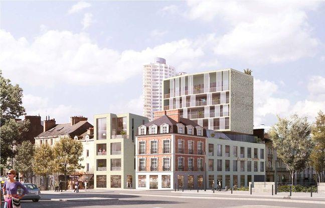 Une image du projet des architectes retenus.
