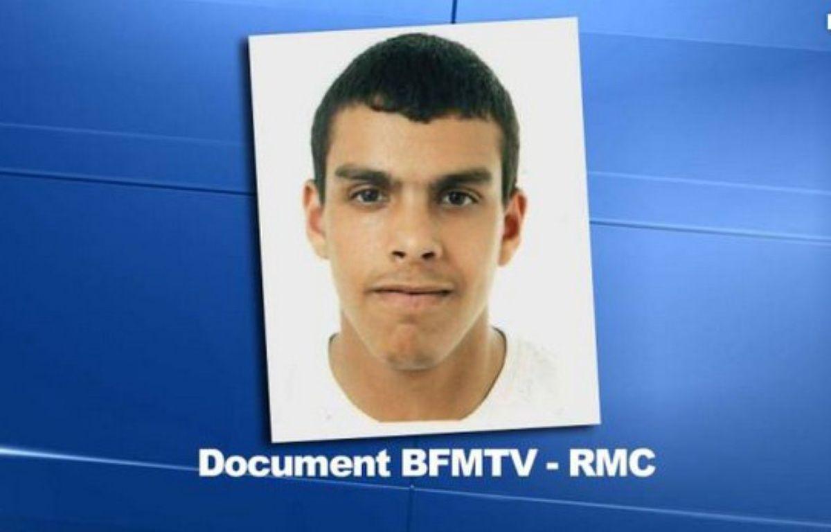 Capture d'écran de la photo de Sid Ahmed Ghlam, récupérée par BFM TV-RM – BFM TV/RMC