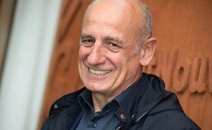Jean-Michel Apathie à Roland-Garros le 29 mai 2016