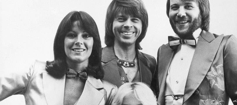Le groupe Abba en 1978