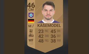 Tommy Käßemodel, le joueur le plus pété de Fifa 18.