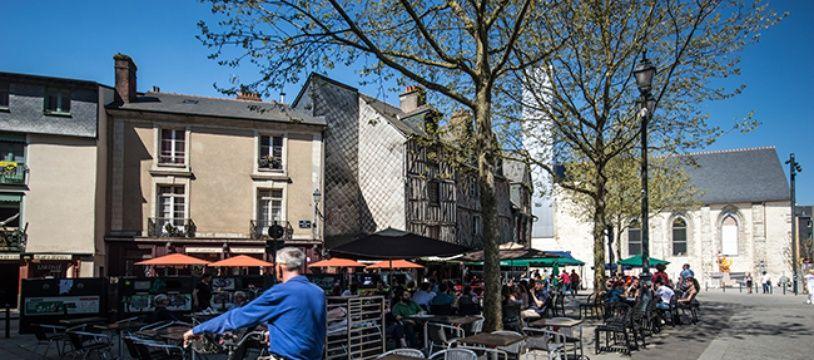 10% des Rennais utilisaient leur vélo pour aller travailler en 2016 d'après l'Insee.