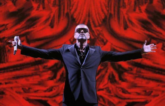 George Michael au Palais Garnier à Paris le 9 septembre 2012