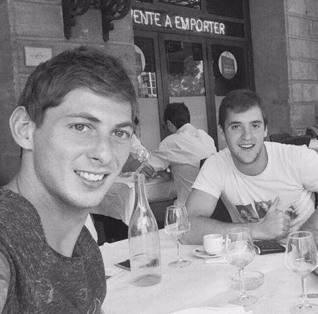 Emiliano Sala et Valentin Vada à Bordeaux.