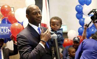 Andrew Gillum, candidat démocrate au poste de gouverneur de la Floride, le 28 août 2018.
