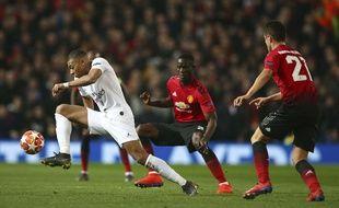 A Old Trafford, Kylian Mbappé a inscrit son 14e but en C1.