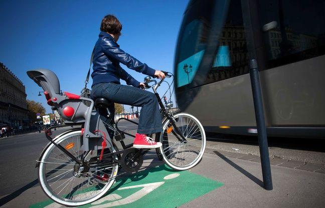 La pratique du vélo est à 60 % masculine à Bordeaux.