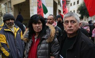 Khalida Jarrar, membre du Front populaire de Libération de la Palestine, libérée en février 2019 après 20 mois de détention administrative.