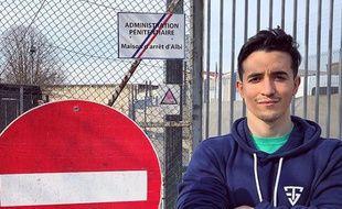 Le Youtubeur fitness Tibo Inshape a poussé les portes de la Maison d'arrêt d'Albi.