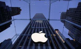 Illustration de la multinationale Apple dénoncée pour ses détournements d'impôts