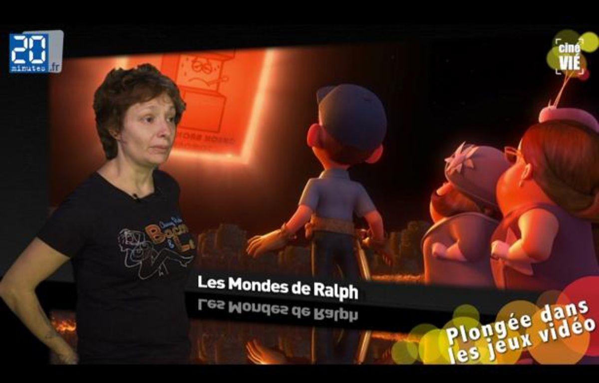 Caroline Vié, critique ciné de «20 Minutes», décrypte le film «Les Mondes de Ralph». – 20minutes