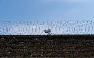 Le mur d'une prison britannique. (Illustration)