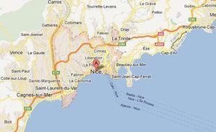 Google Maps de Nice.
