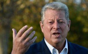 Al Gore, ancien vice-président, politicien et prix Nobel de la paix à Paris, le 13 novembre 2015 à Paris