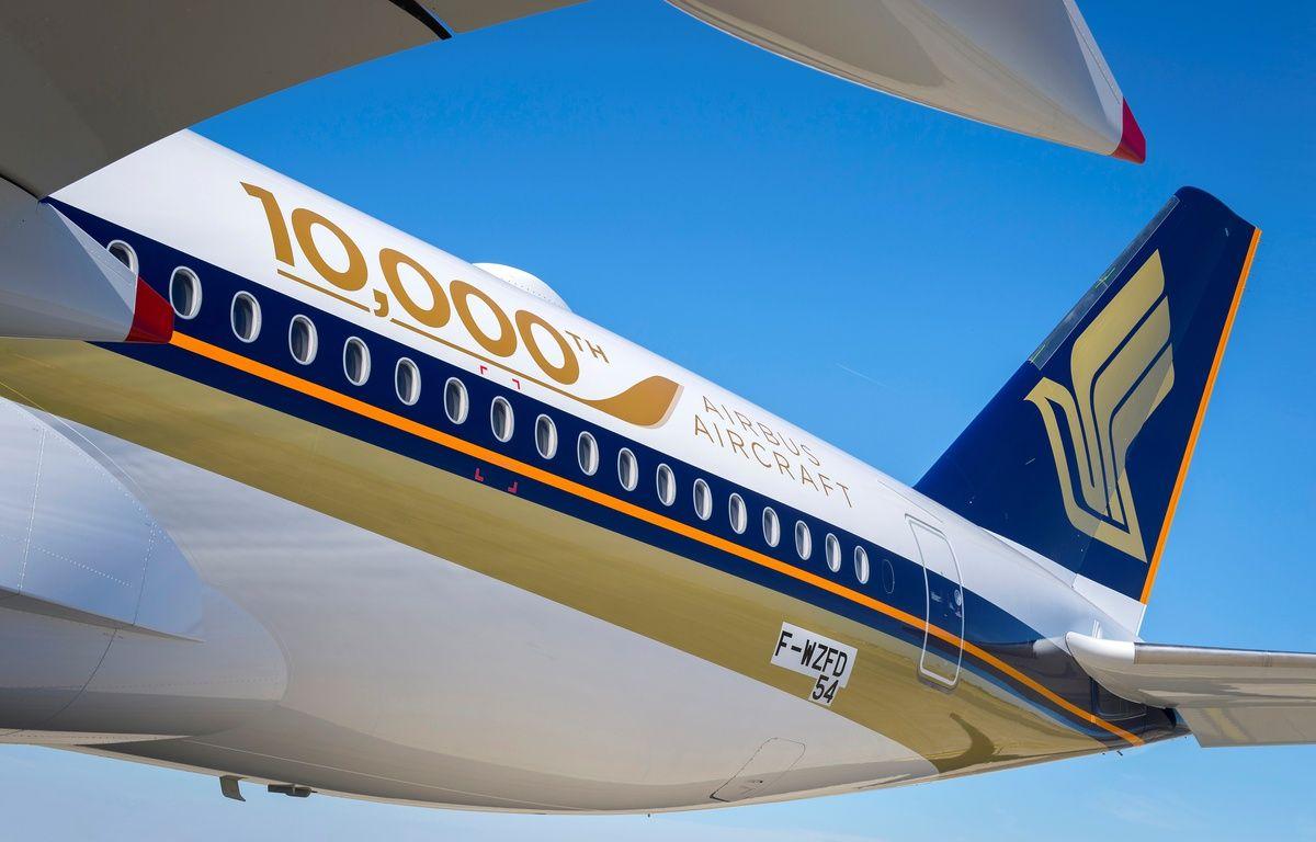 Airbus a livré vendredi son 10.000ème avion. – Airbus